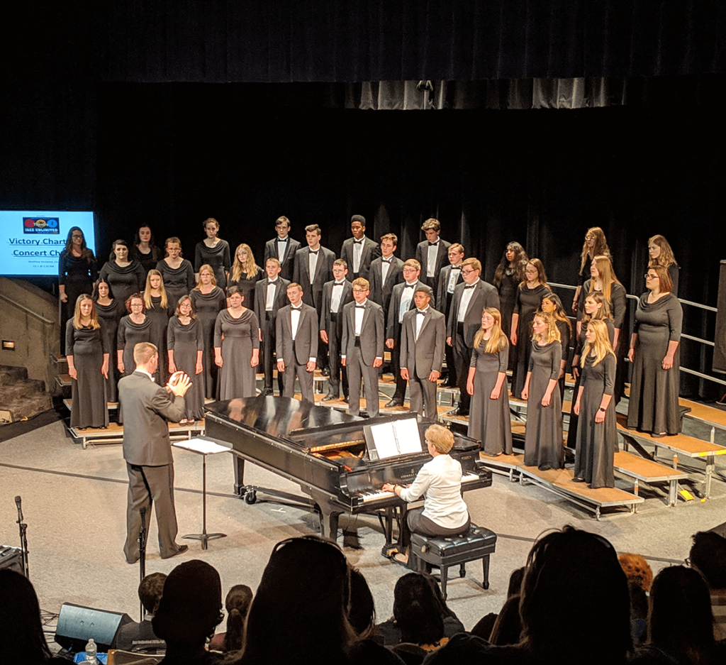 CBC choir performance