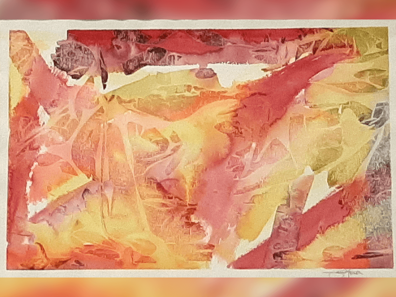 Jarrod Franson, Mystical Reflections, Ink Wash, acquired 2010