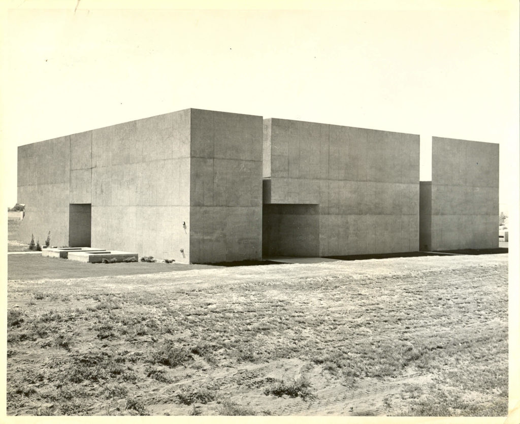 Vintage photo of CBC Arts Center Building