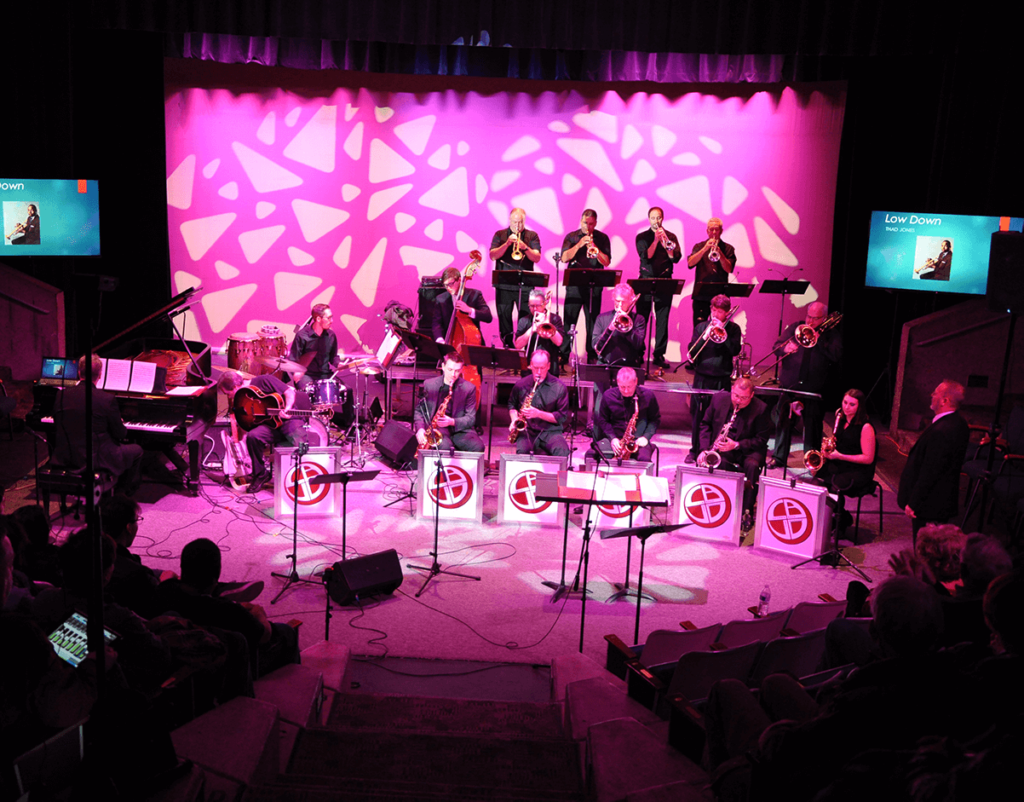 CBC Performance on theatre stage