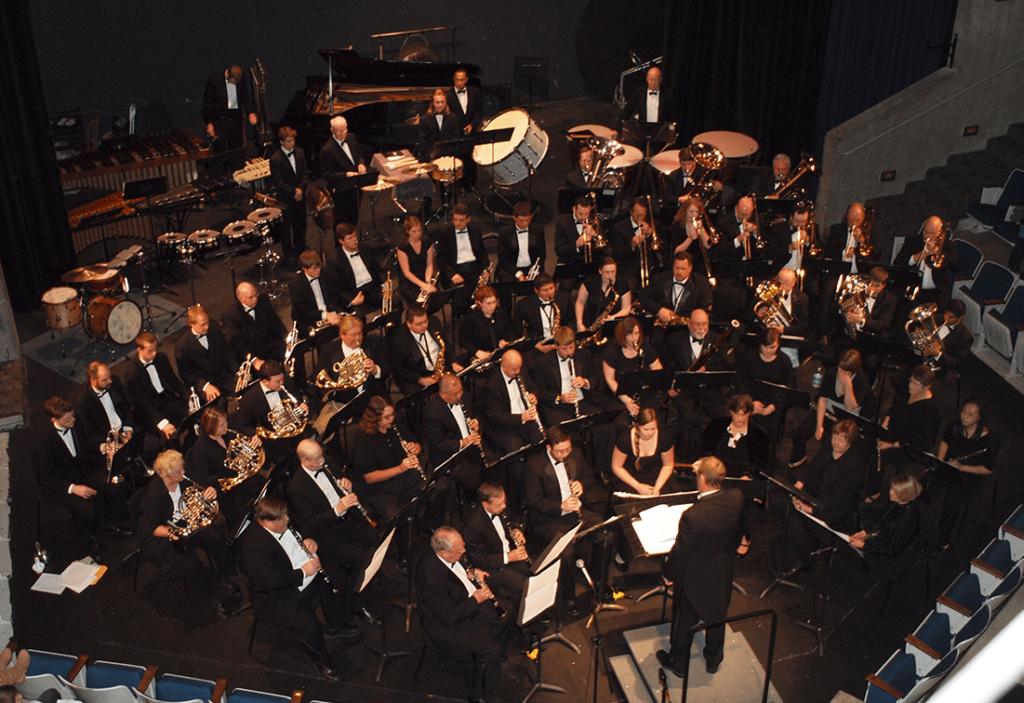 Orchestra performance in CBC Theatre