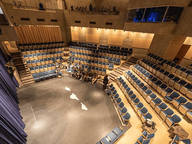 Interior of empty CBC Theatre