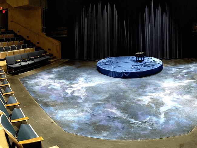 Interior of the CBC Theatre